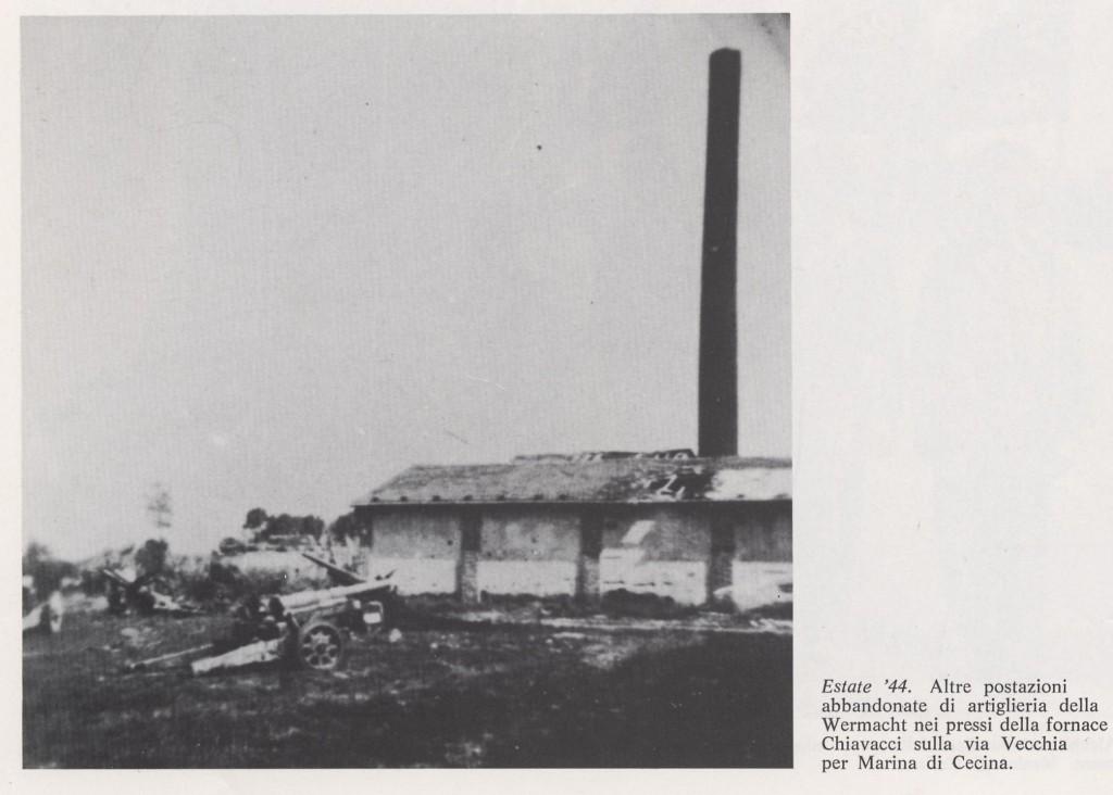 La fornace Chiavacci nel 44
