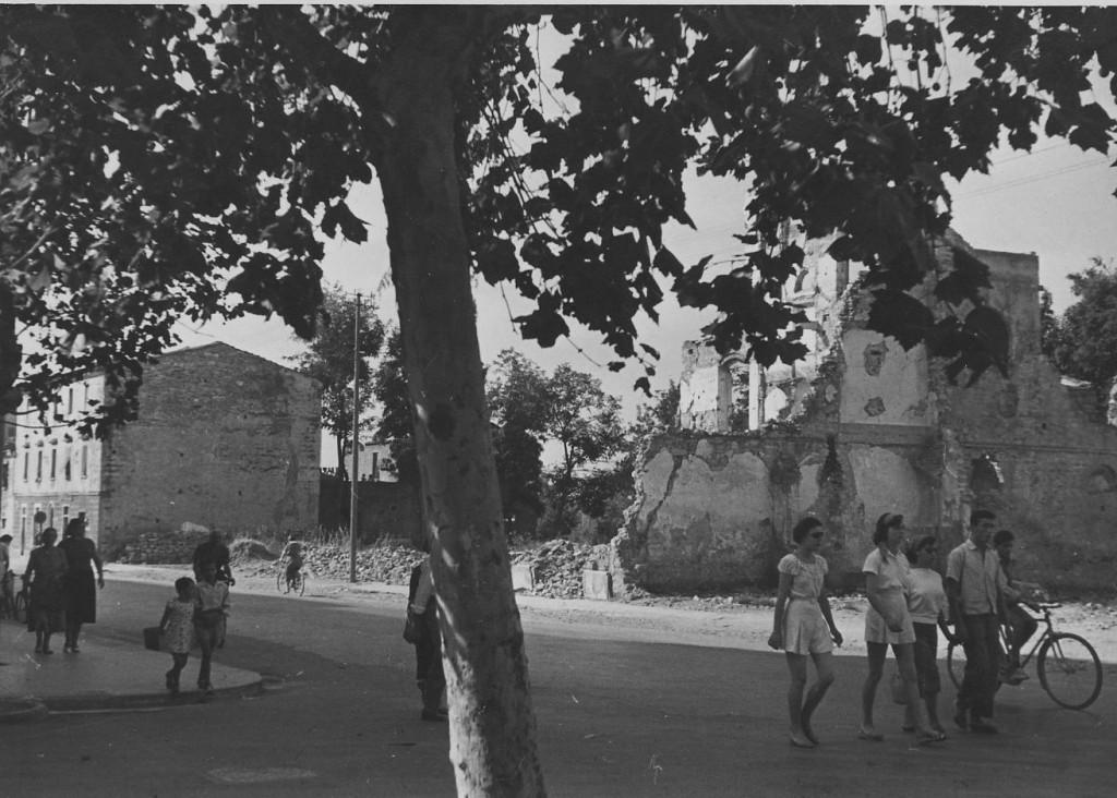 piazza libertà bombardata